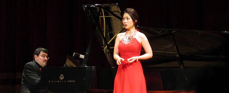 Soprano Haeran Hong e pianista Marco Bernardo