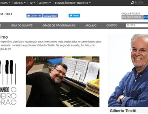 Marco Bernardo no Pianíssimo por Gilberto Tinetti