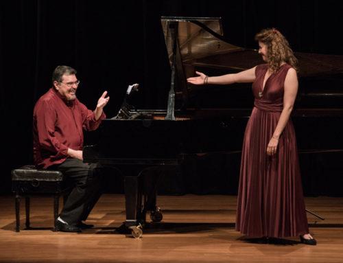 Com Eva Zaïcik no Auditório do MASP